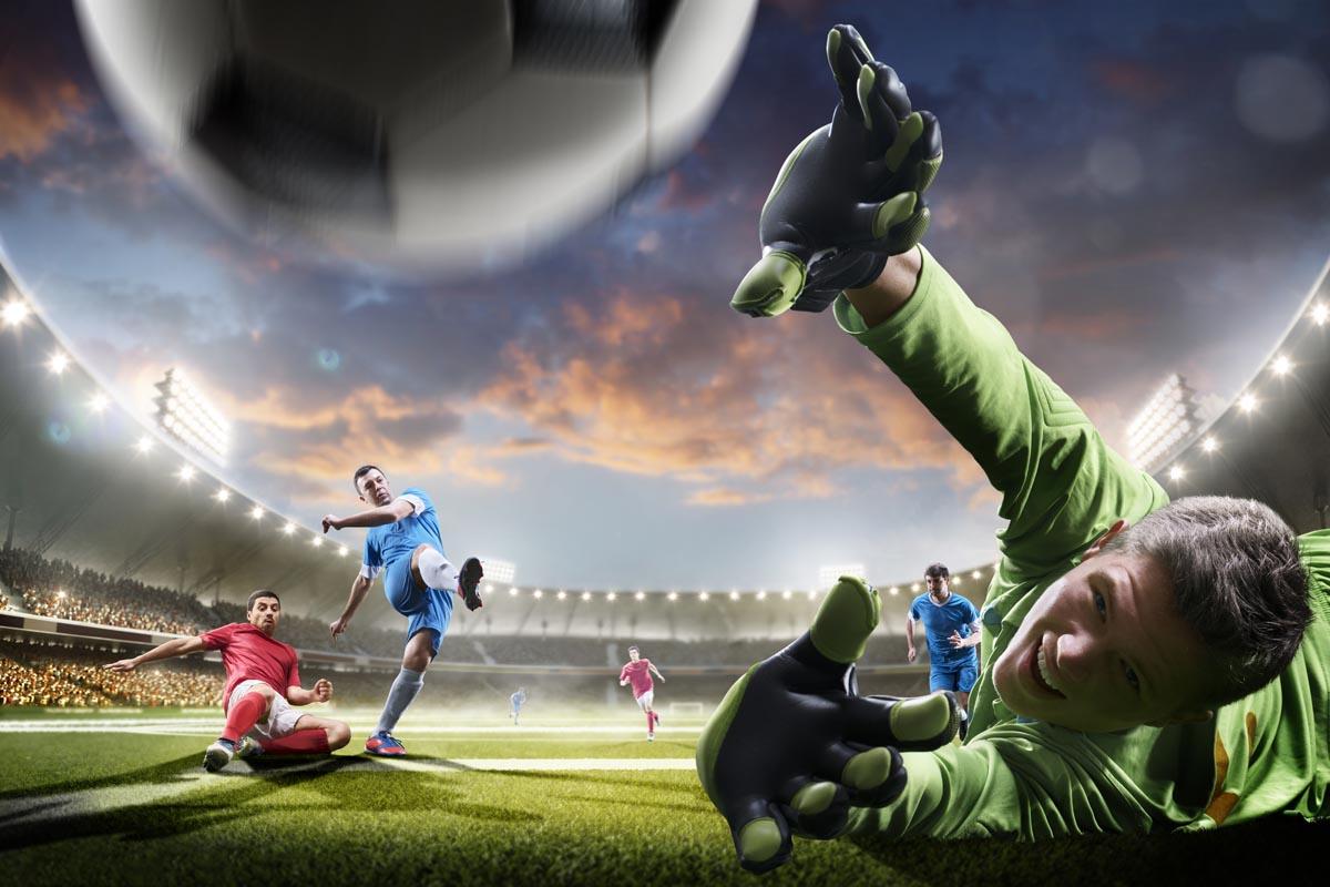 voetbal 432493228 lr - Sport Behang
