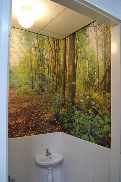 Fotobehang met bos 3 inspirerende voorbeelden - Behang voor trappenhuis ...