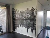 fotobehang-amsterdam-zwartwit