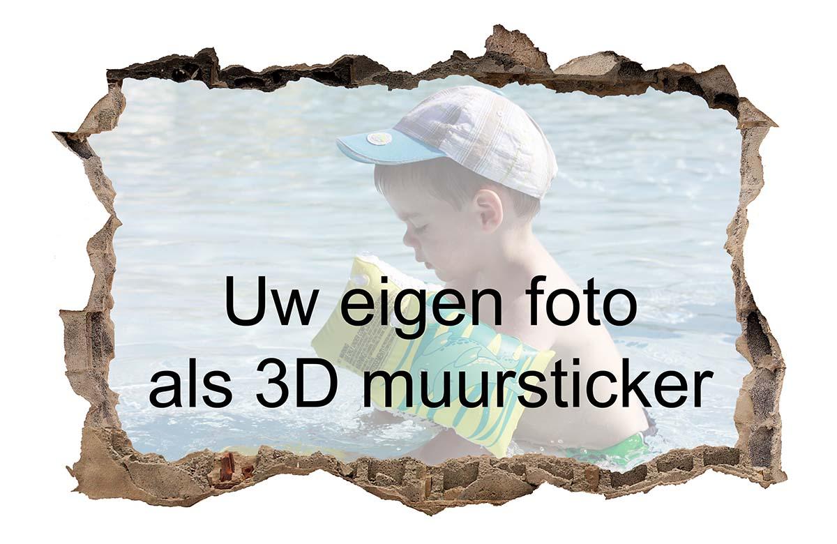 3d Stickers Muur.3d Muursticker Van Uw Foto Of Bestand 3d Muursticker Van Uw Foto Of
