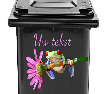 Kliko Sticker Met Grappige Afbeelding Van Kikker En Tekst