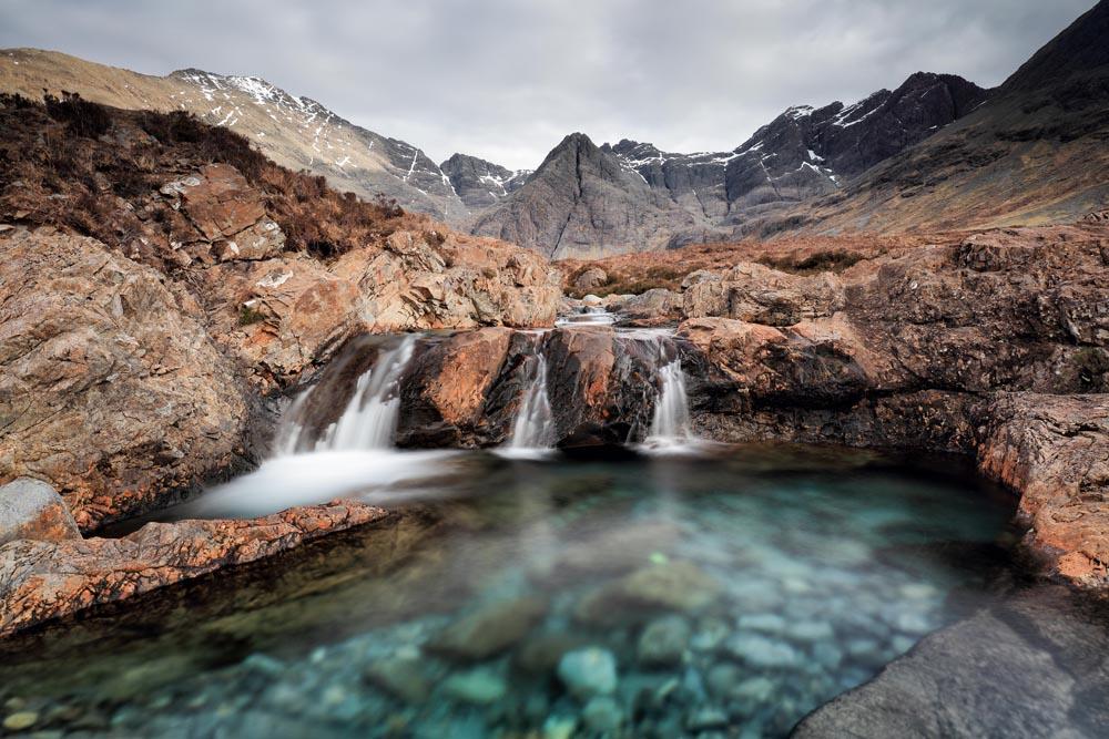 Landschappen Fotobehang Landschap Schotland