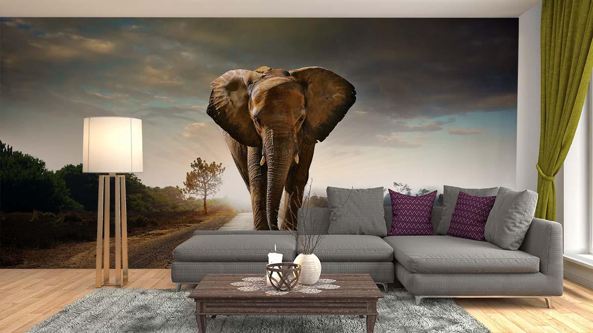 Inspiratie Behang Woonkamer : Woonkamer behang voorbeelden elegant smart home inspiratie boards